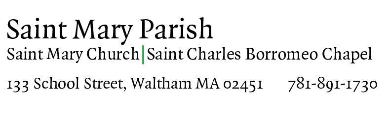 Saint Mary Parish (Waltham)